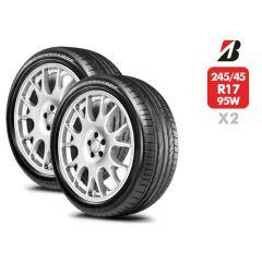 2 Neumáticos Bridgestone Potenza RE050A RFT 95W 245/45 R17