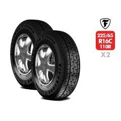 2 Neumáticos Firestone CV5000 225/65 R16C 112/110R