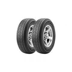 2 Neumáticos  Bridgestone Dueler Ht687 225/65 R17 101h