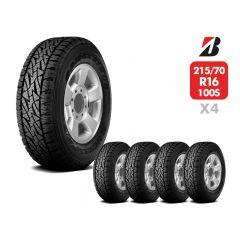 4 Neumáticos 215/70 R16 Bridgestone Dueler At697 100S
