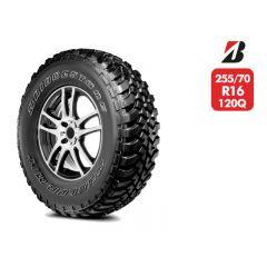 Neumático Bridgestone Dueler MT674 120/117Q 10T 255/70 R16