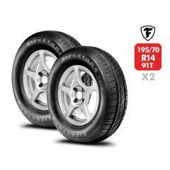 2 Neumáticos Firestone F600 195 70 R14 91T