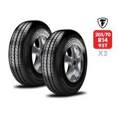 2 Neumáticos Firestone F700 205/70 R14 95T
