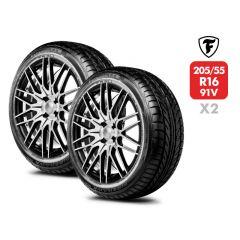 2 Neumáticos Firestone Firehawk 900 205 55 R16 91V
