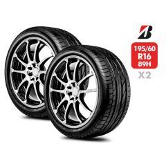 2 Neumáticos Bridgestone Turanza ER300 195/60 R16 89H
