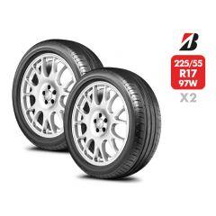 2 Neumáticos Bridgestone Turanza T001 RFT SM 97W 225/55 R17