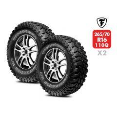 2 Neumáticos Firestone Destination MT23 110Q 265/70 R16