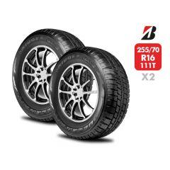 2 Neumáticos Bridgestone Dueler At693 III 255/70 R16 111T