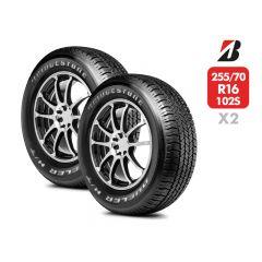 2 Neumáticos Bridgestone Dueler HT684 II 255/70 R16