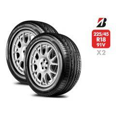 4 Neumáticos Bridgestone Dueler Hp Sport 102T 225 65 R17 | Daytona