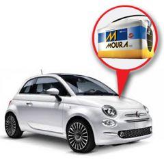 Batería Moura Fiat 500 Nafta