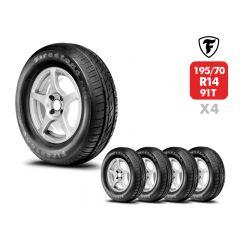 4 Neumáticos Firestone F600 195 70 R14 91T