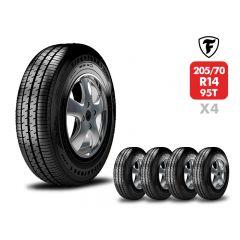4 Neumáticos Firestone F700 205/70 R14 95T
