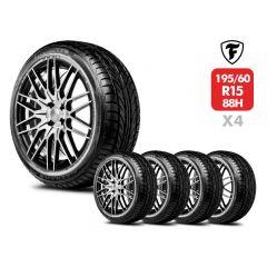 4 Neumáticos Firestone Firehawk 900 195/60 R15 88H
