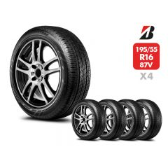 4 Neumáticos Bridgestone Ecopia Ep150 87V 2008 195 55 R16 | Daytona