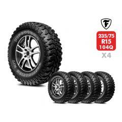 4 Neumáticos Firestone Destination MT23 235/75 R15 104Q