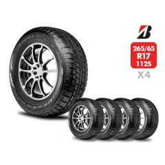 4 Neumáticos Bridgestone Dueler At693 Iii 112S 265 65 R17   Daytona