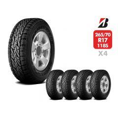 4 Neumáticos Bridgestone Dueler At697 118/115S LT 8T 265/70 R17