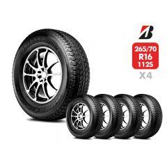 4 Neumáticos Bridgestone Ht840 112S 265 70 R16 | Daytona