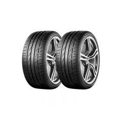 2 Neumáticos Bridgestone Potenza S001 RFT SM 245/40 R17 91W