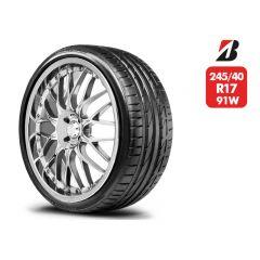 Neumático Bridgestone Potenza S001 RFT SM 245/40 R17 91W