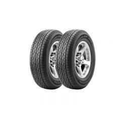 2 Neumáticos  Bridgestone Dueler Ht687 235/60 R16 100h