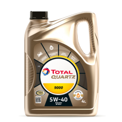 Cambio de aceite sintético Total Quartz 9000 5w-40 + Filtro de aceite