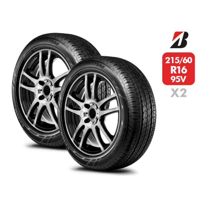 2 Neumáticos Bridgestone EP150HZ 95V 215/60 R16