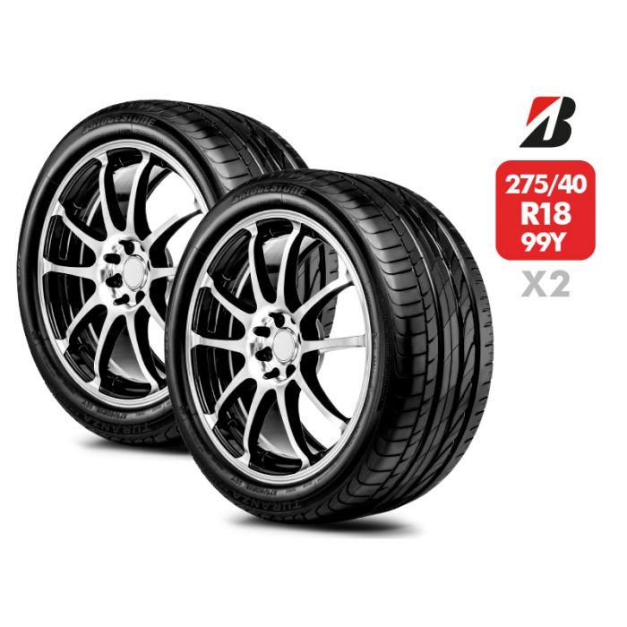 2 Neumáticos Bridgestone Turanza Er300 ECO RFT SM 99Y 275/40 R18