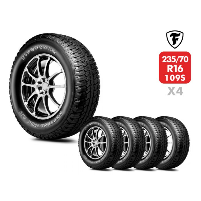 4 Neumáticos Firestone Destination AT 109S 235/70 R16