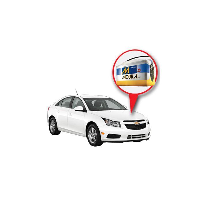Batería Moura Chevrolet Cruze Nafta