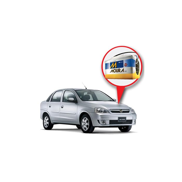 Batería Moura Chevrolet Corsa Nafta