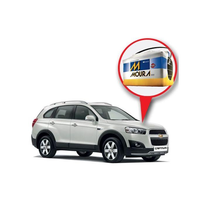 Batería Moura Chevrolet Captiva Nafta