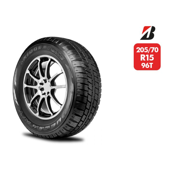 Neumático Bridgestone AT693 205/70 R15 96T