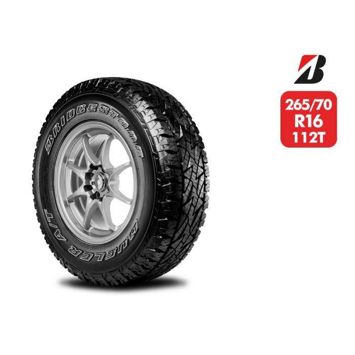 Neumático Bridgestone Dueler A/T REVO2 265 70 R16 112T