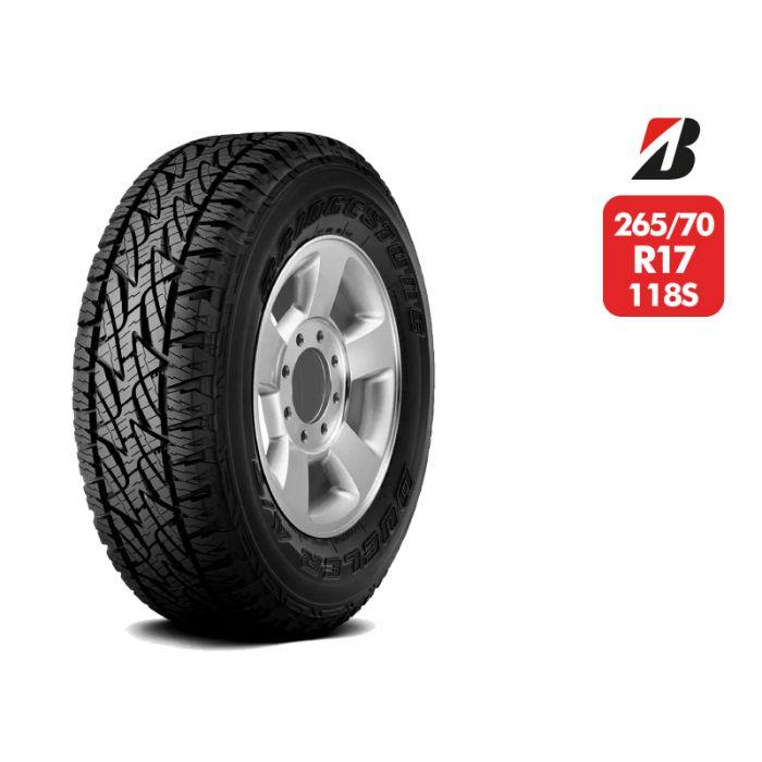 Neumático Bridgestone Dueler At697 118/115S LT 8T 265/70 R17