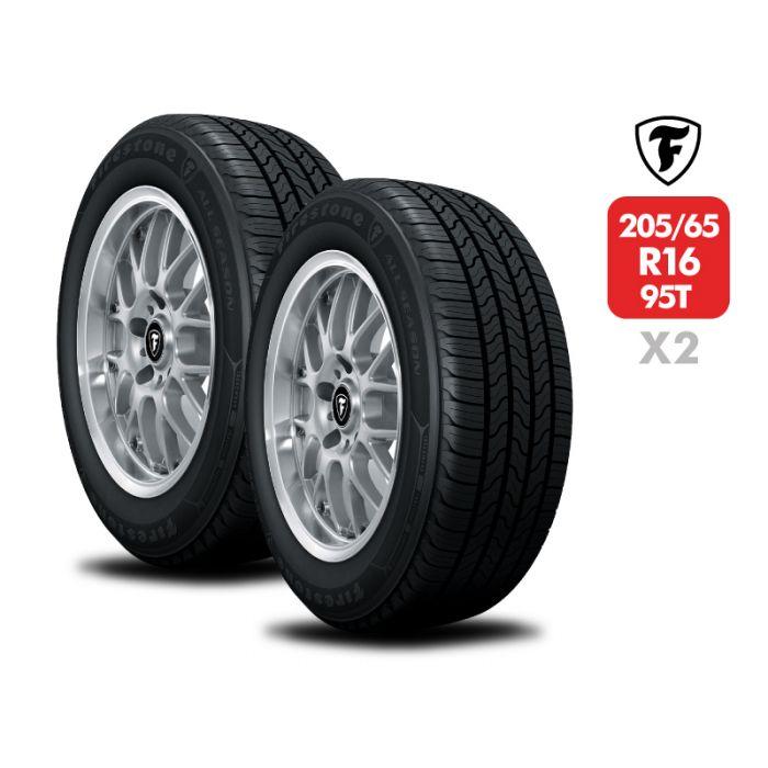2 Neumáticos Firestone All Season 95T 205/65 R16