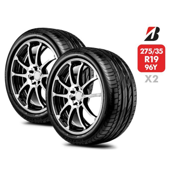 2 Neumáticos Bridgestone Turanza Er300 RFT 96Y 275/35 R19