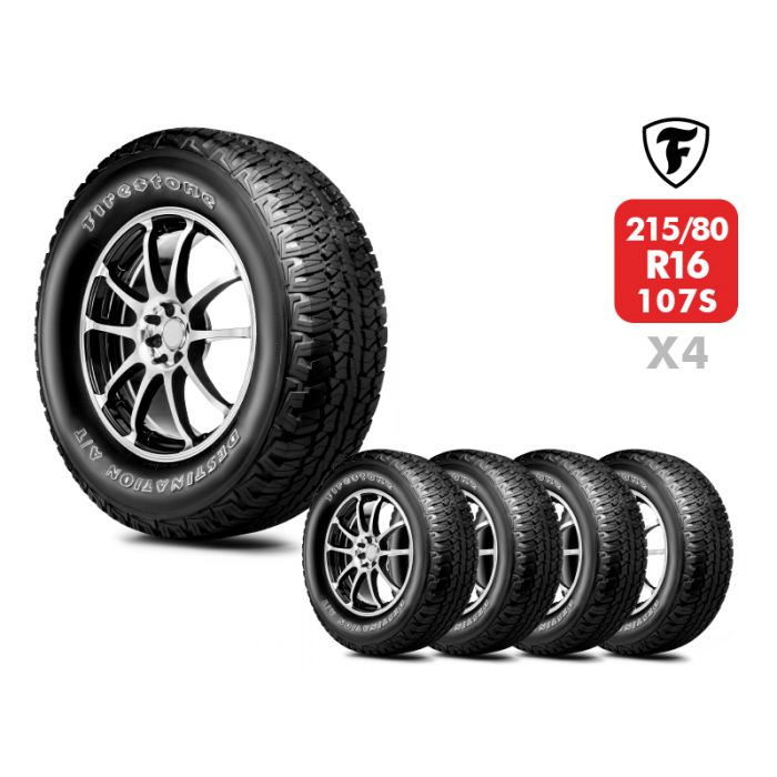 4 Neumáticos Firestone Destination At 107S 215/80 R16