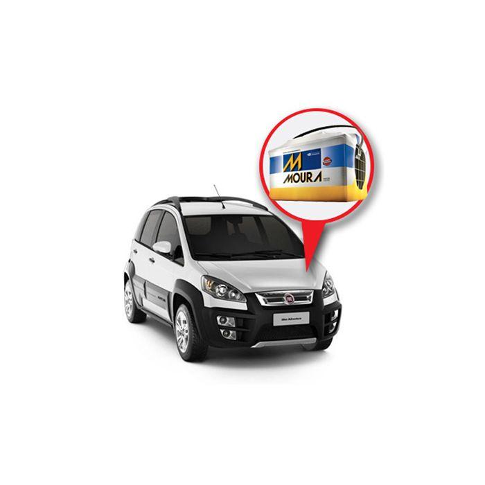 Batería Moura Fiat Idea Nafta