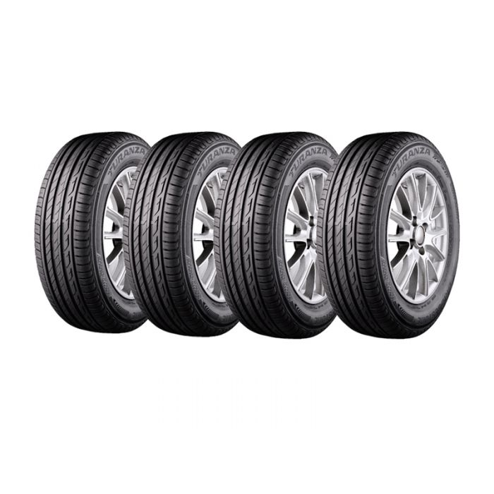 4 Neumáticos Bridgestone Turanza T005 235/55 R17 99V