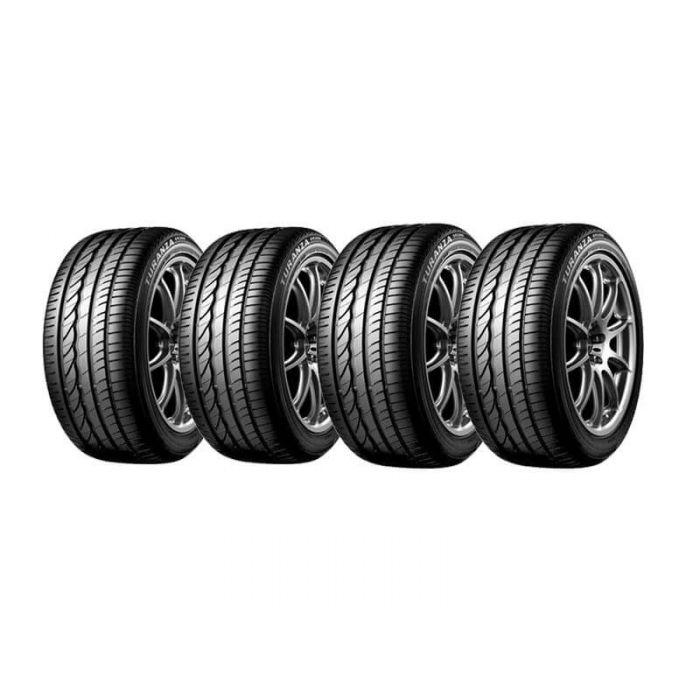 4 Neumáticos Bridgestone Turanza Er300 91V 205 55 R16   Daytona