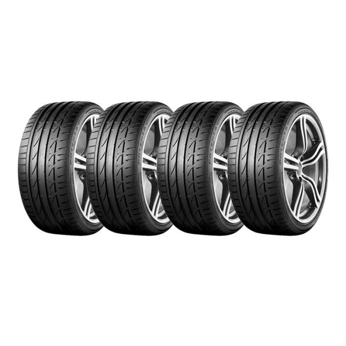 4 Neumáticos Bridgestone Potenza S001 RFT SM 245/40 R17 91W