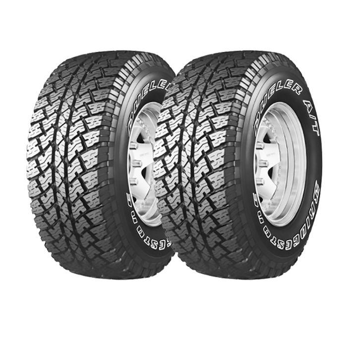 2 Neumáticos Bridgestone AT693 205/70 R15 96T