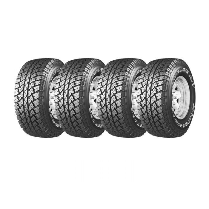 4 Neumáticos Bridgestone Dueler At693 III 255/70 R16 111T