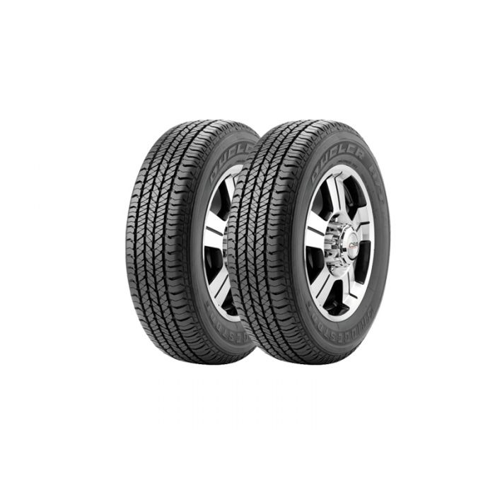 2 Neumáticos Bridgestone HT684 II 225/55 R18 98H