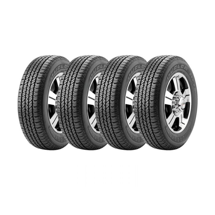 4 Neumáticos Bridgestone Dueler HT 684 II ECOPIA 255/65 R17 110T
