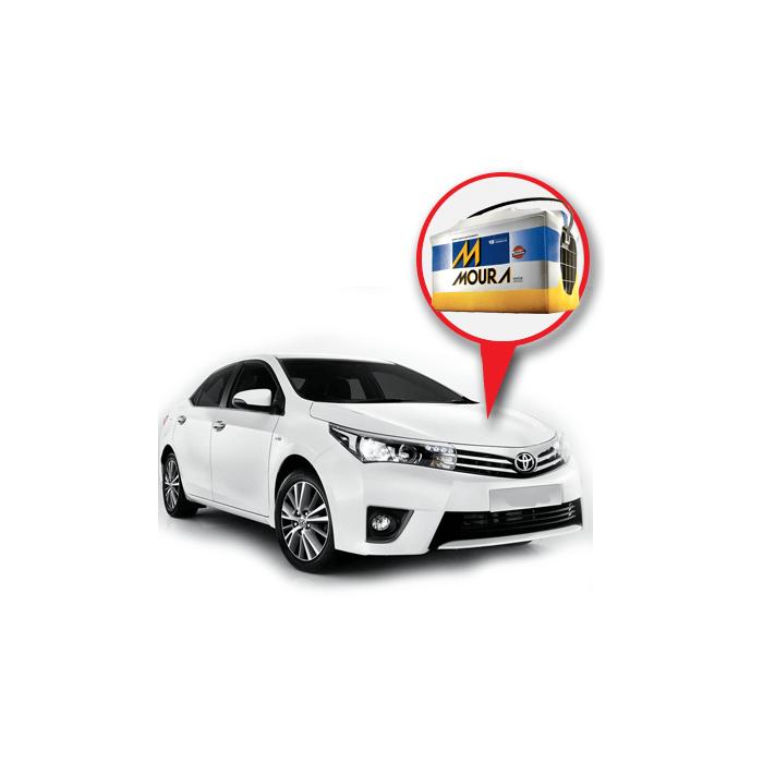 Batería Moura Toyota Corolla 1 6 Nafta | Daytona