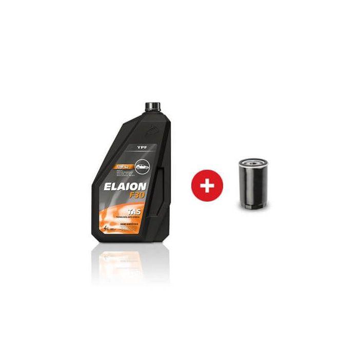 Cambio De Aceite Y Filtro Semi Sintetico Ypf Elaion | Daytona