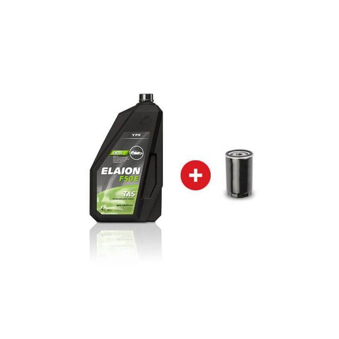 Cambio De Aceite Y Filtro Sintetico Ypf Elaion F50 E 5W 30 | Daytona